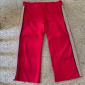 BeBe drawstring linen pants